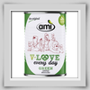 Ami V-LOVE every day green