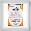 Ami V-LOVE every day orange