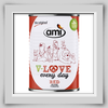 Ami V-LOVE every day red